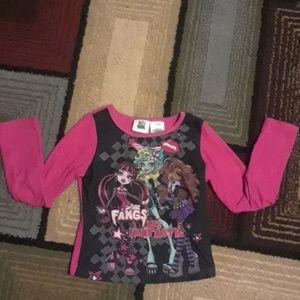 Monster Hight pajama top